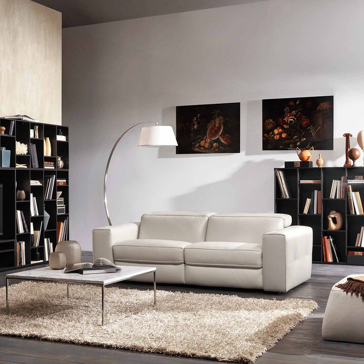 Leather Sofa Brio is a modern sofa by Natuzzi Italia Soft Touch mechanism uczero wall ud system and electric adjustable headrests