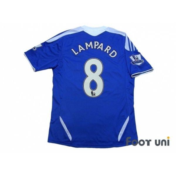 Chelsea 2011-2012 Home Shirt #8 Lampard BARCLAYS PREMIER LEAGUE Patch/Badge  #