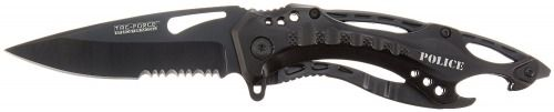 TAC Force TF-705 Series Assisted Opening Tactical Folding Knife, Half-Serrated B #TACForce