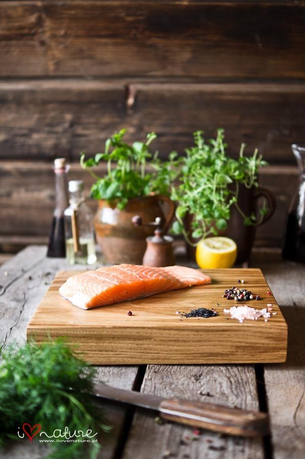 Fińska uczta na dębowej desce! :) #finuupl #finuu #ilovenaturepl #salmon #łosoś #fish #diy #handmade #wooden #oak #dąb #kuchnia #kitchen #akcesoriazdrewna #dekoracje #inspiracje #kuchennerewolucje