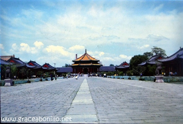 The Imperial Palace In Shen Yang  China