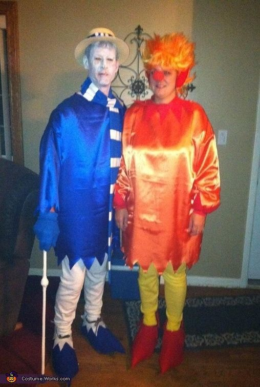 The Miser Brothers - Heat & Snow - 2012 Halloween Costume Contest