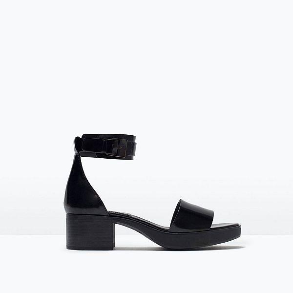 Zara'nın yeni yıl koleksiyonundan güzel bir ayakkabı