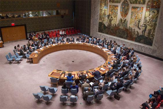 Security Council meeting