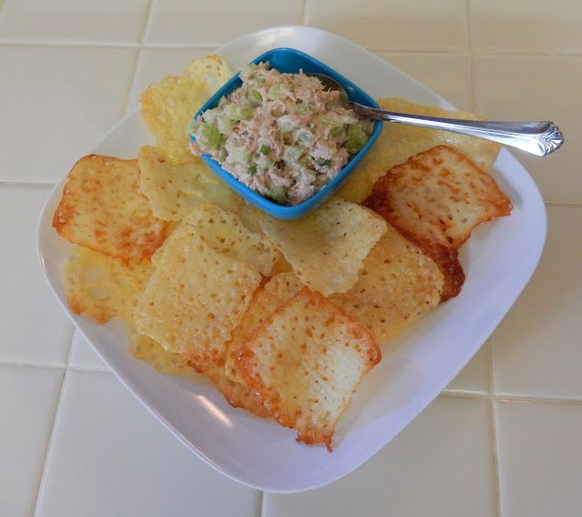 Crunchy Cheese Chips - Low Carb Chip Alternative