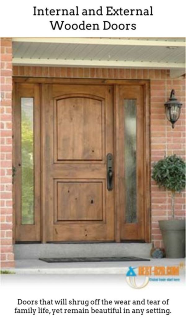 Wooden Doors. Wooden Doorways Are Excellent If You Reside In A Period Home,  Or