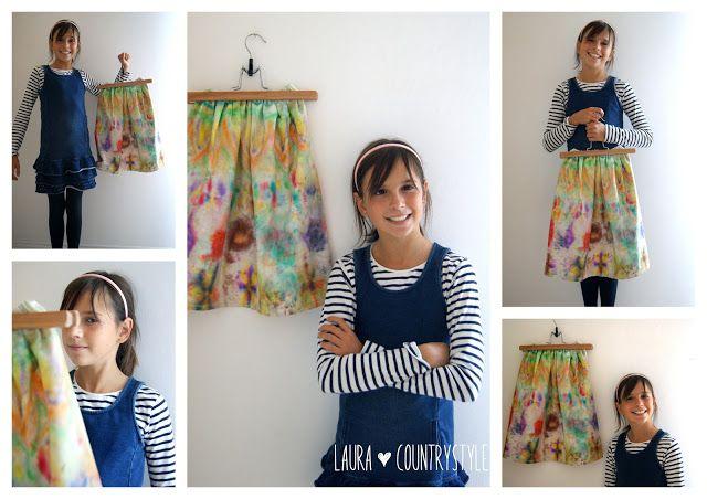 Country style: Le creazioni di Valeria: specialità scout la mia prima gonna