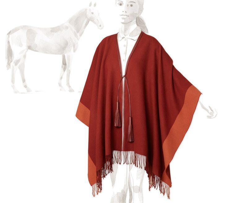 Pour Le Cavalier Hermès Ponchos - Femme - Equitation | Hermès, Site Officiel