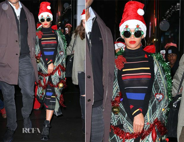 Beyonce Knowles In Stella McCartney – Christmas Party