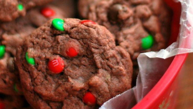 Biscuits de Noël au pudding au chocolat