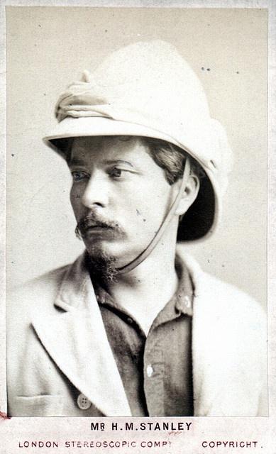 Portrait of Henry Morton Stanley (1841-1904), Explorer by Smithsonian Institution, via Flickr