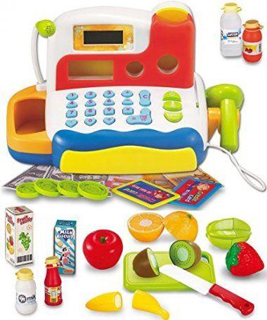 Funerica Durable Cash Register Toy Set Kids Toys Cash