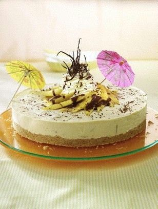 Philadelphia cream cheese banana split cake recipe