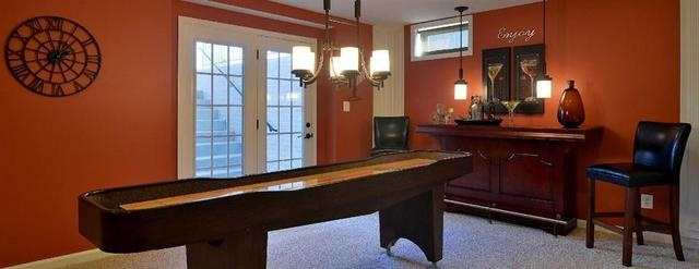 I want a shuffleboard for my basement