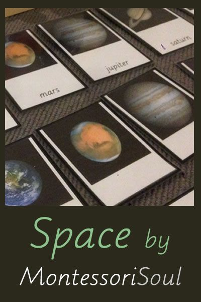 Some great ideas and FREE printables to teach about space