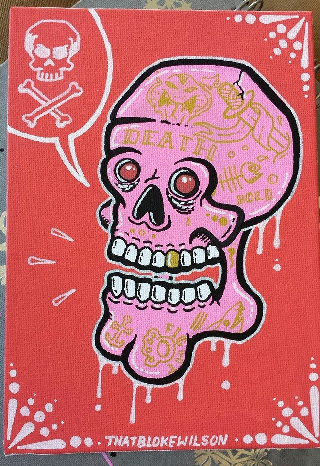 Posca art by That Bloke Wilson