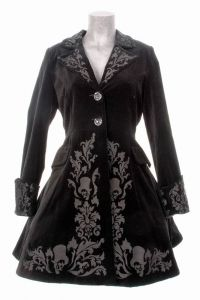 Spin Doctor - Victorian Gothic Coat - Black