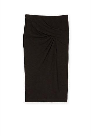 Tuck Front Skirt | Skirts
