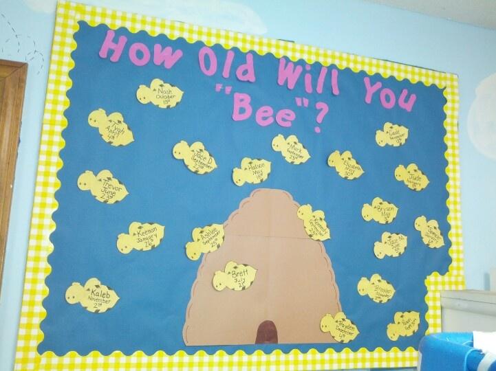 Spring Bulletin Board Ideas For Infant Room