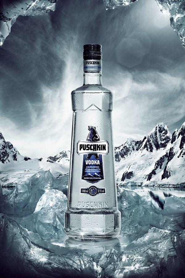 Puschkin Vodka on Behance