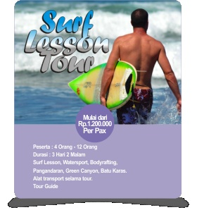Surf Lesson Tour Pangandaran