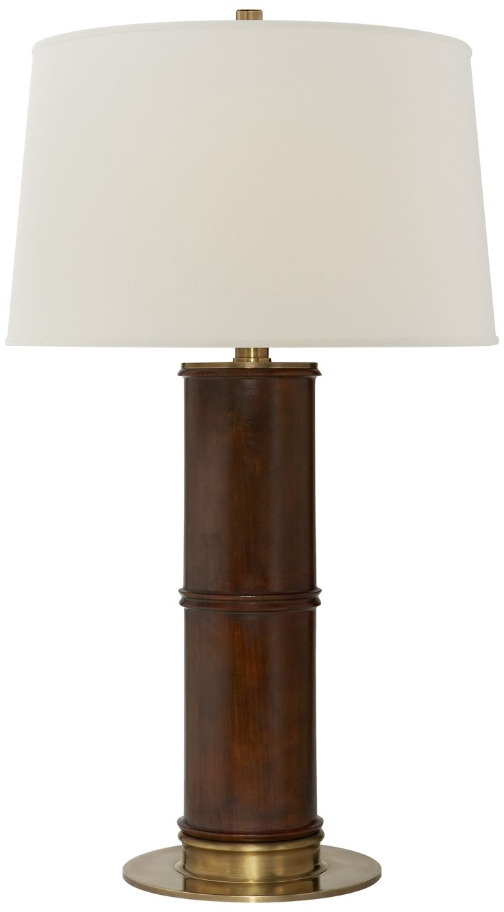 Yellow papillion lamp base by bungalow 5 rosenberryrooms com - Buy Healey Table Lamp In Mahogany By Ralph Lauren Home Made To Order