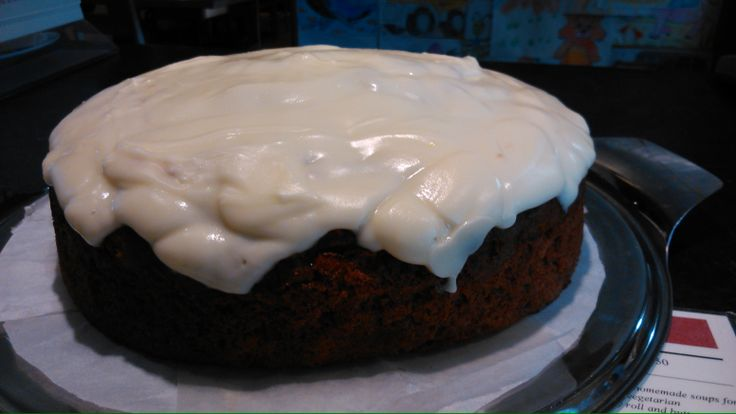 Our ever popular Carrot & Ginger Cake