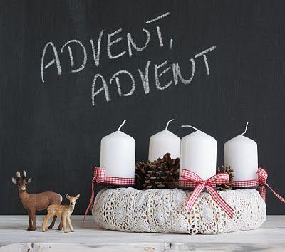 advent, advent mit beigen kerzen
