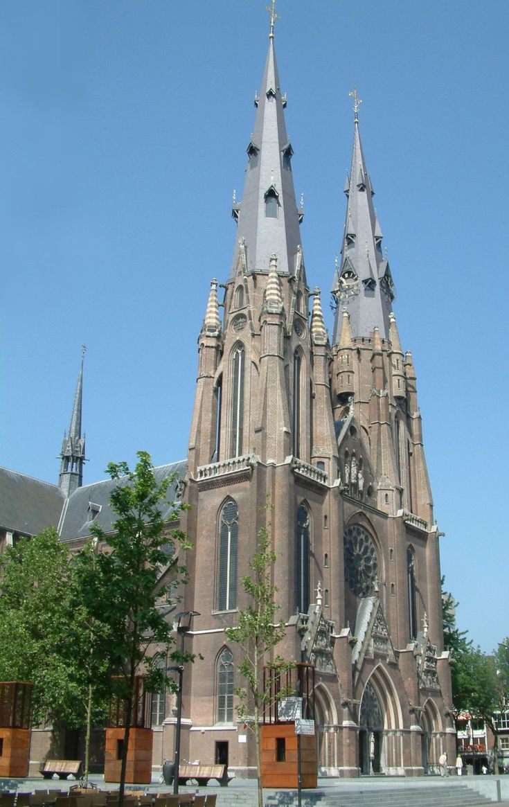 Eindhoven, The Netherlands..the bells of Saint Catherine's are as beautiful as the architecture