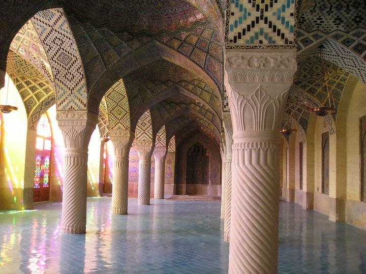 Best Vakil Mosque Shiraz Iran Images On Pinterest Mosques - The mesmerising architecture of iranian mosques