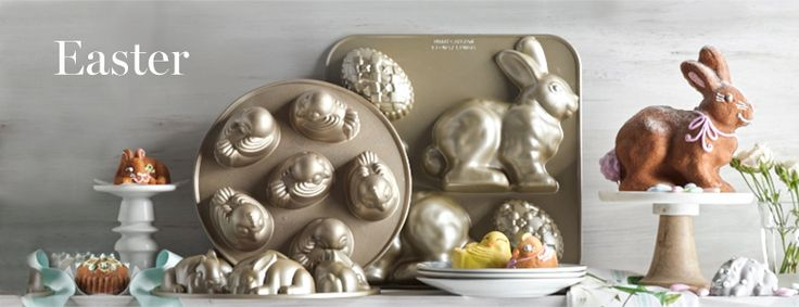 Williams Sonama Easter Bakeware