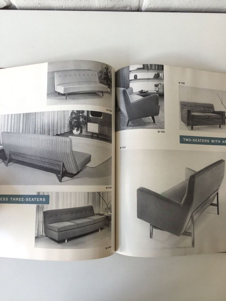 1955 Jens Risom Furniture Catalog Mid Century Modern Design Book 82 PG    eBay. 2041 best VINTAGE FURNITURE images on Pinterest   Vintage