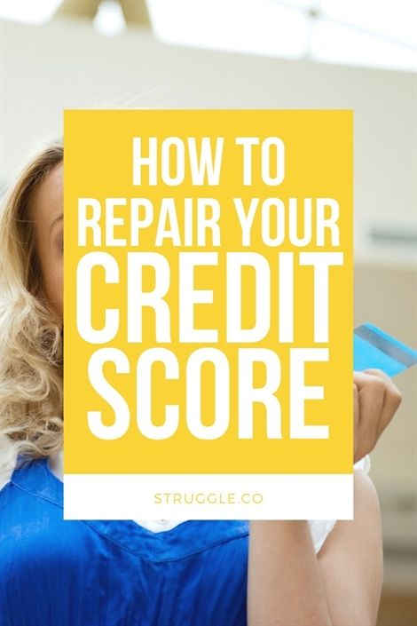 The 101 Guide to Repairing Your Credit Score