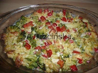 Zapiekanka z ryby i warzyw
