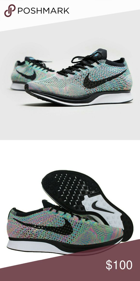 💎STEAL! Nike flyknit racer 💎STEAL! Nike flyknit racer Rainbow Colors 100usd/pair Sizes subject to availability 100% Original  With box, no lid While stock last. Nike Shoes Sneakers