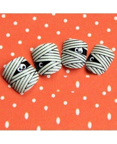 Más de 15 ejemplos de uñas decoradas para Halloween - Chicas Naturalistas