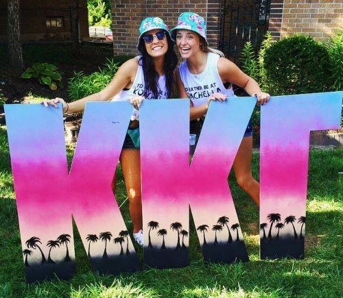 Kappa Kappa Gamma at University of Iowa #KappaKappaGamma #KKG #Kappa #BidDay…