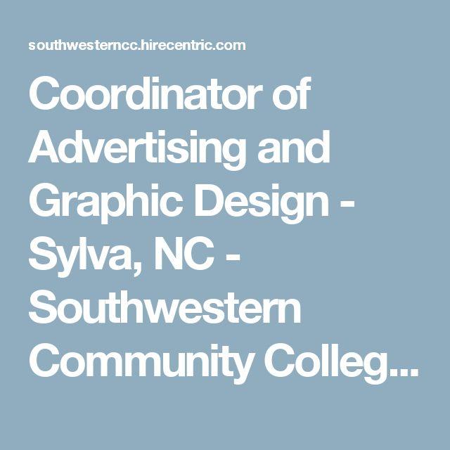 Coordinator of Advertising and Graphic Design - Sylva, NC - Southwestern Community College Jobs