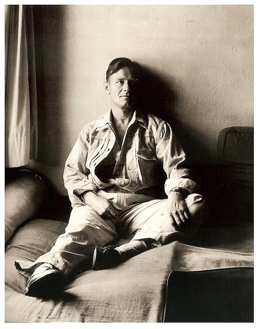 Christopher Isherwood by George Platt Lynes