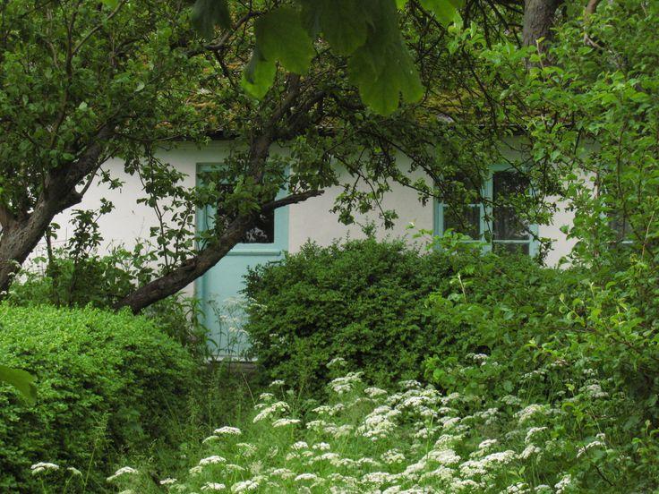 En gammal trädgård