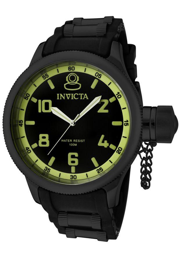 17 best images about men s watches under 100 russian diver black dial black polyurethane invicta mens watch under 100