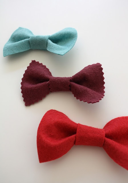 No sew bow ties- going to make some of these for Mac.