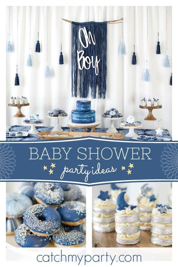 Feast your eyes on this stunning rustic blue baby …