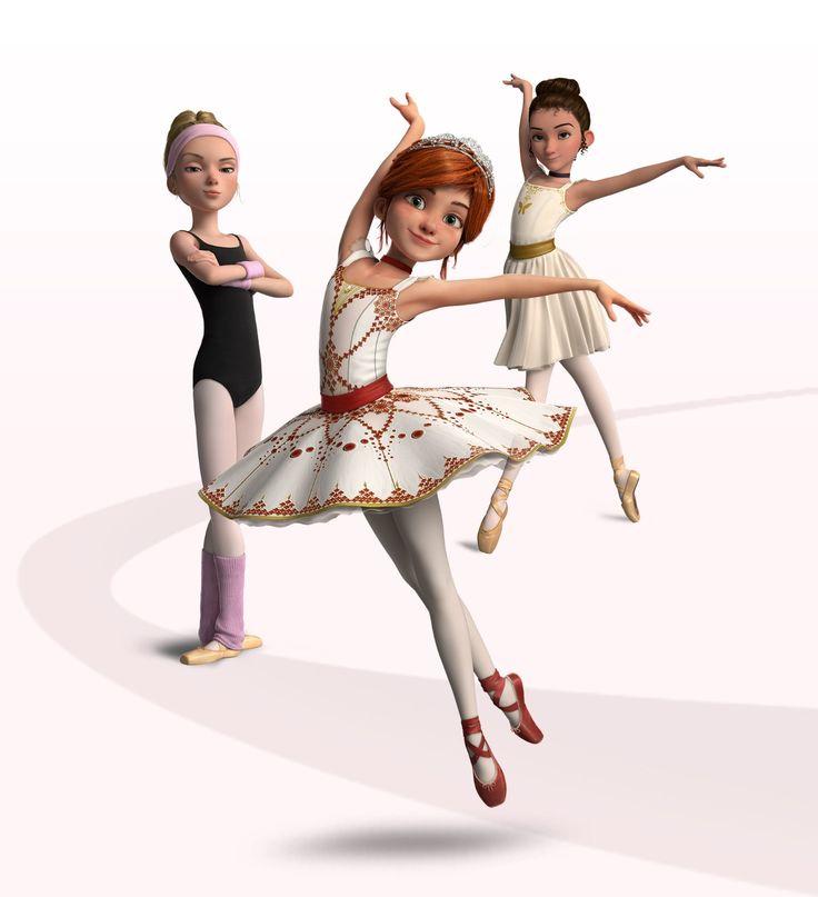 Ballerina le film Felicie Ballerina Pinterest