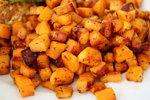 Sweet Potato Hash {Cooking with Coconut Oil} - From Small Home Big Start