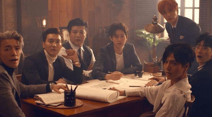 """Super Junior faz seu comeback tão esperado com MV """"Black Suit"""""""