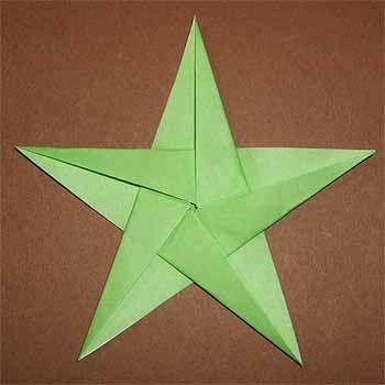 正方形の折り紙で五角形の作り方!五角形の星の折り方も紹介 | セツの折り紙処  origamisho.com