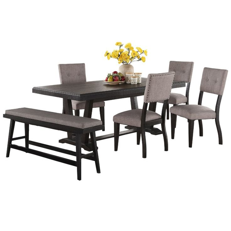 Babalon 6 Piece Dining Set   Weekends Only Furniture And Mattress. Dining  SetsDining TableMad MenMattress