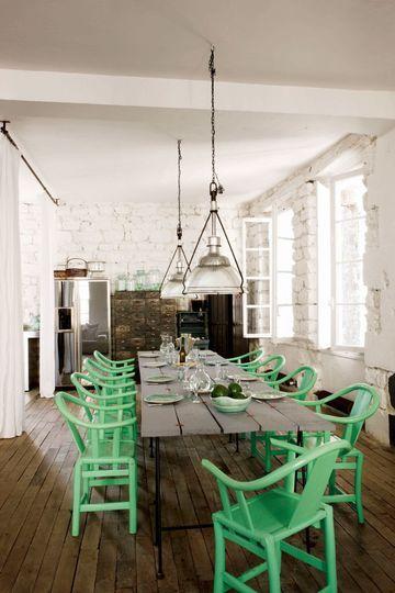 The loft of Paola Navone in Paris - Photo Ijean-Marc Palisse