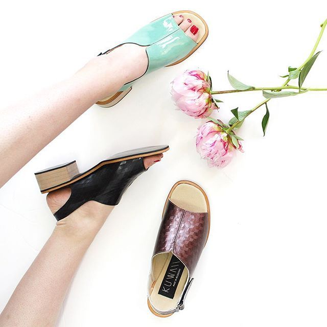 Kuwaii Viola Mule 〰️ Like all our footwear, we work closely with our Melbourne makers to ensure they are flattering, comfortable and beautiful. We adore this shoe and hope you do too